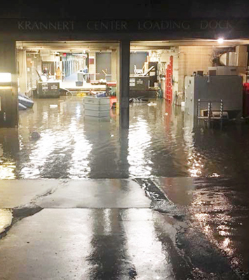 Krannert Center 2018 Flood