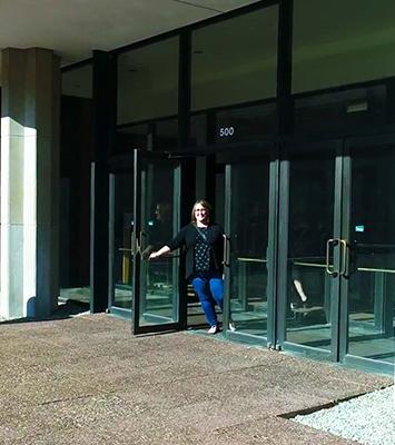Krannert Center front door