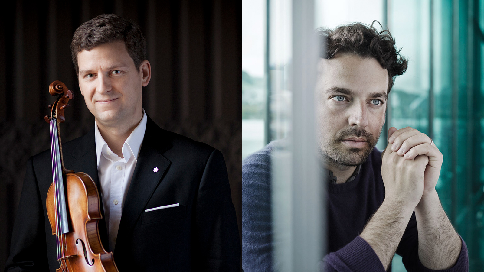 James Gaffigan and James Ehnes