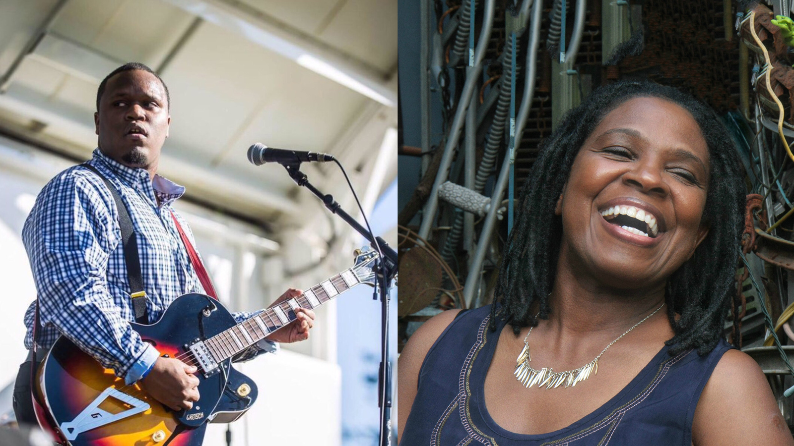 Jontavious Willis and Ruthie Foster