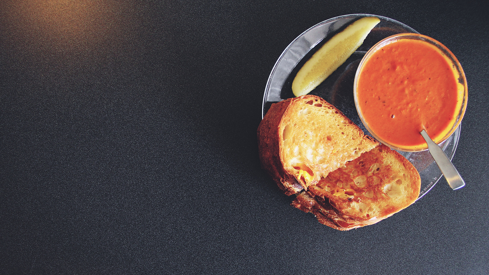 Grilled Cheese and Soup