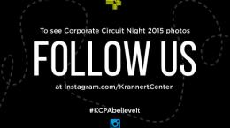 Corporate Night 2015 Follow us on Instagram