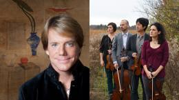 Jupiter String Quartet with Todd Palmer