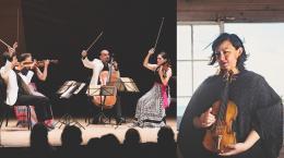 Jupiter String Quartet and Michi Wiancko